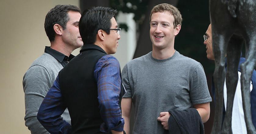 Założyciel Facebooka Mark Zuckerberg, twórca największej społeczności internetowej świata