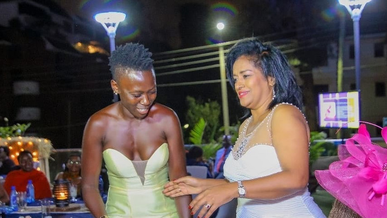 Image result for akothee with passaris