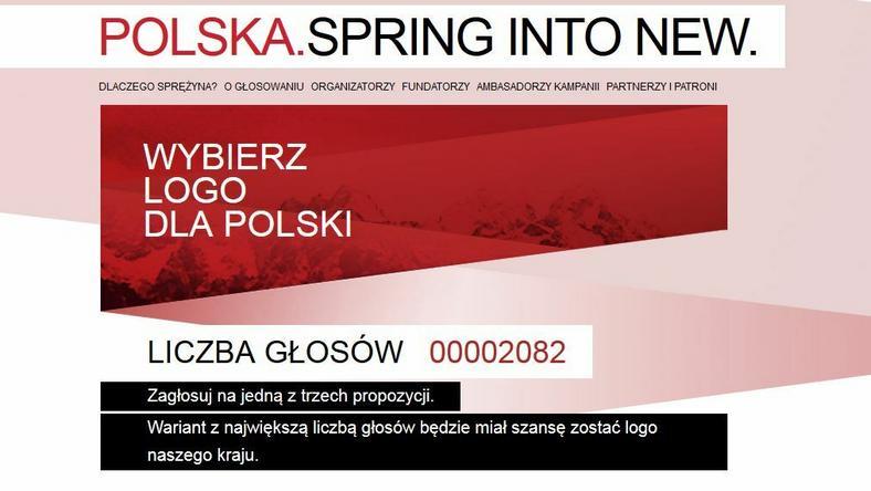 Screen ze strony logodlapolski.pl