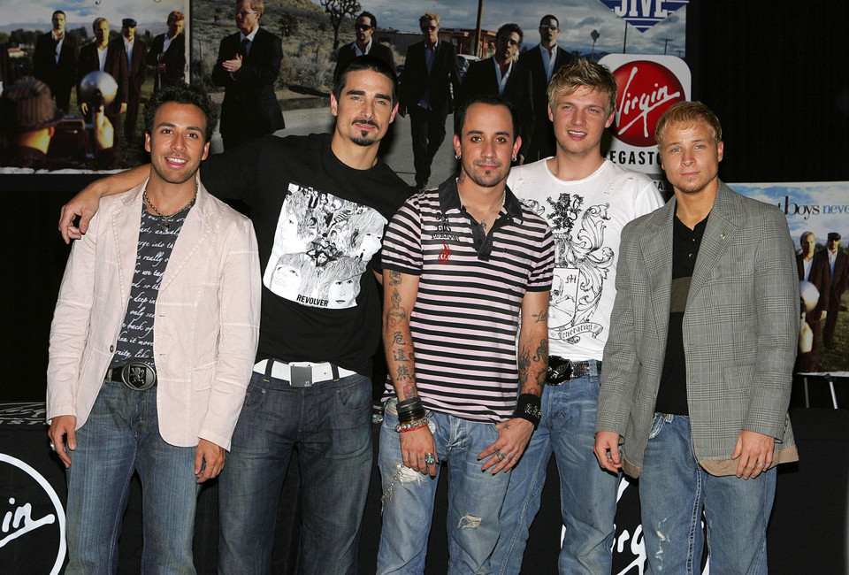 Backstreet Boys w 2005 roku