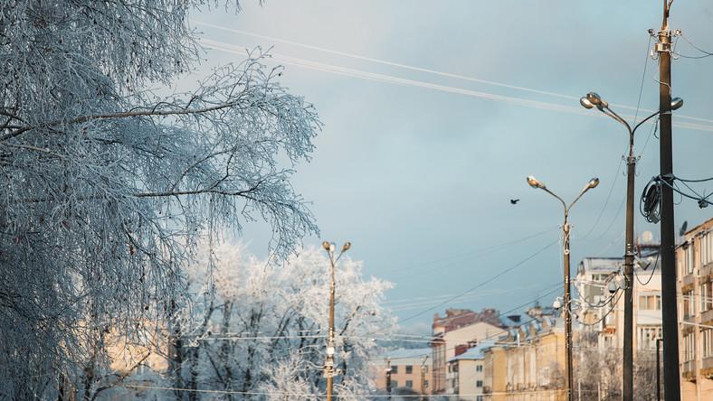 Mróz, zima