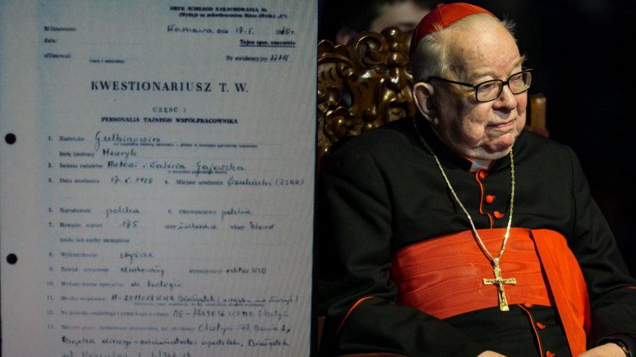 Kardynał Henryk Gulbinowicz a SB. Oto dokumenty, o których mówi cała Polska