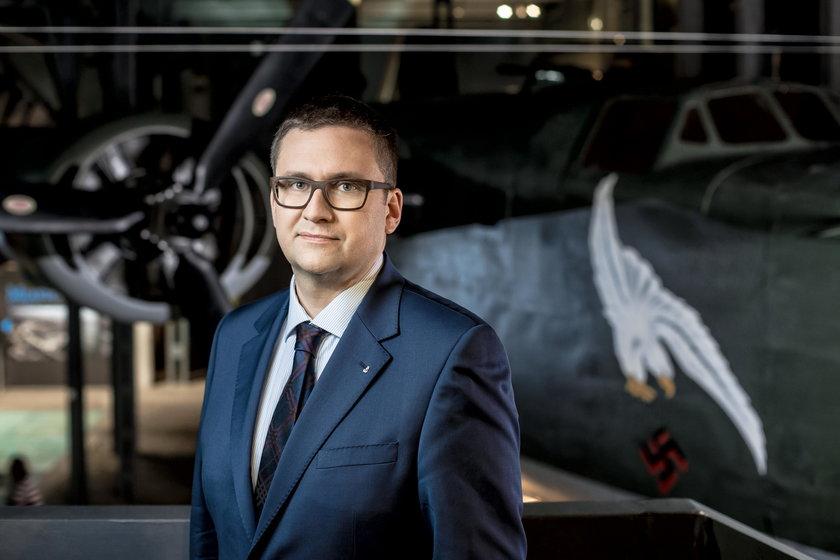Jan Ołdakowski (44 l.), dyrektor Muzeum Powstania Warszawskiego