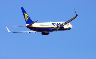 Samolot Ryanair wystartował z Mińska do Wilna