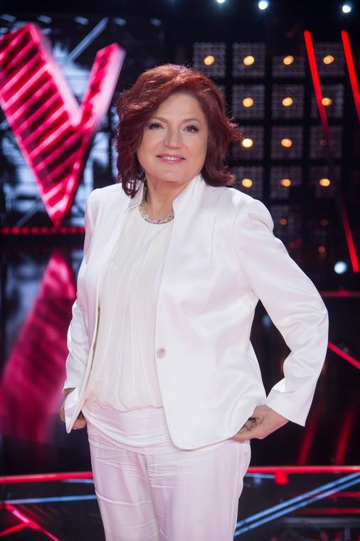 "Urszula Dudziak w ""The Voice of Poland"""
