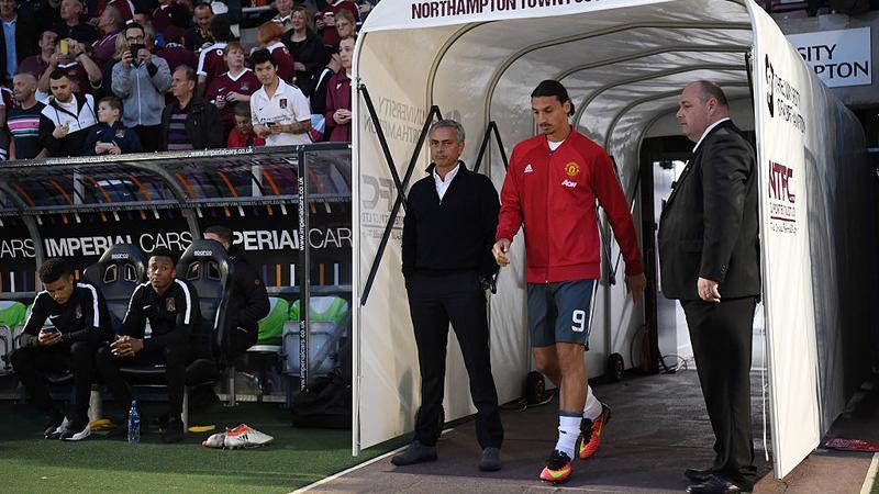 Jose Mourinho i Zlatan Ibrahimovic