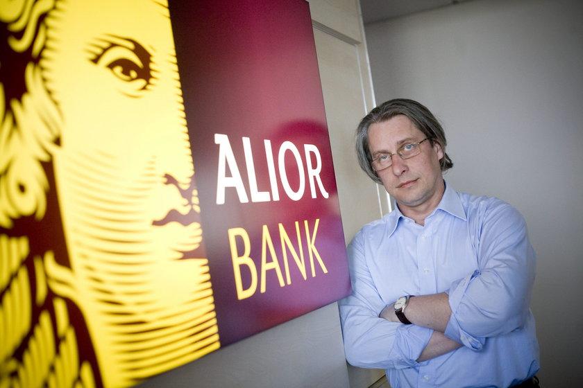 Wojciech Sobieraj, prezes Alior