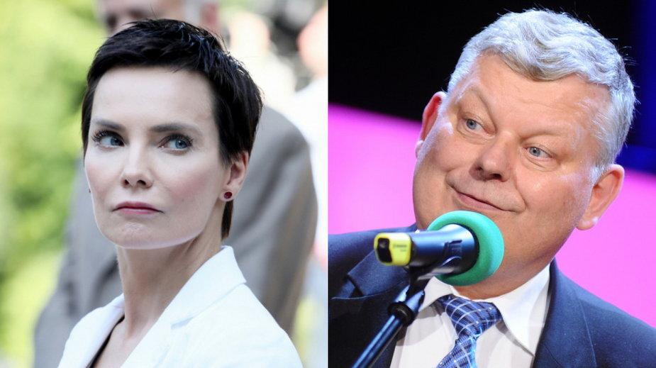 Prezeska Polskiego Radia Agnieszka Kamińska i Marek Suski (MW Media, fot. Piotr Andrzejczak)