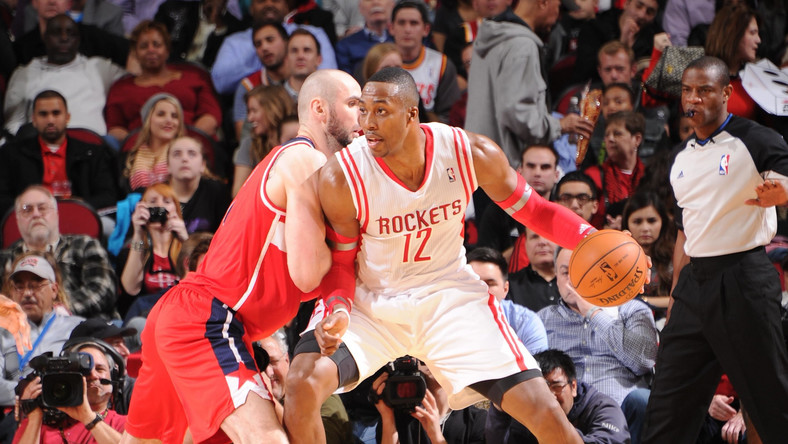 Marcin Gortat i Dwight Howard