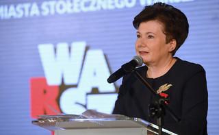 Hanna Gronkiewicz-Waltz otrzymała groźby. Prezydent Warszawy zwróci się do MSWiA z prośbą o ochronę
