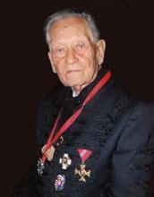 Pákh Imre édesapja, Sándor, aki Kárpátalja visszafoglalása után megkapta a vitézi címet  / Fotó: Pákh Imre