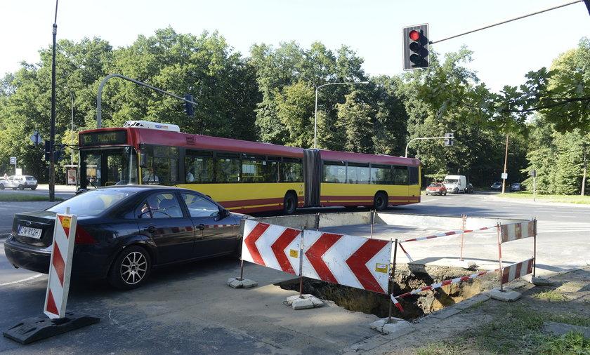 Awaria MPWIK we Wrocławiu