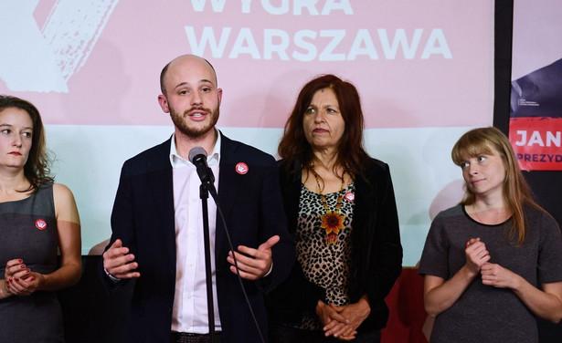 Jan Śpiewak ocenił, że błędem był brak wspólnej listy lewicy, środowisk progresywnych i ruchów miejskich.