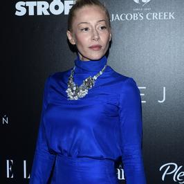Katarzyna Warnke cała na niebiesko. Co za stylizacja!