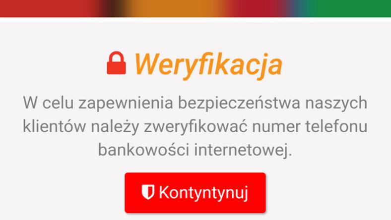 3cc8762006026 mBank ostrzega klientów o nowym wirusie na Androida