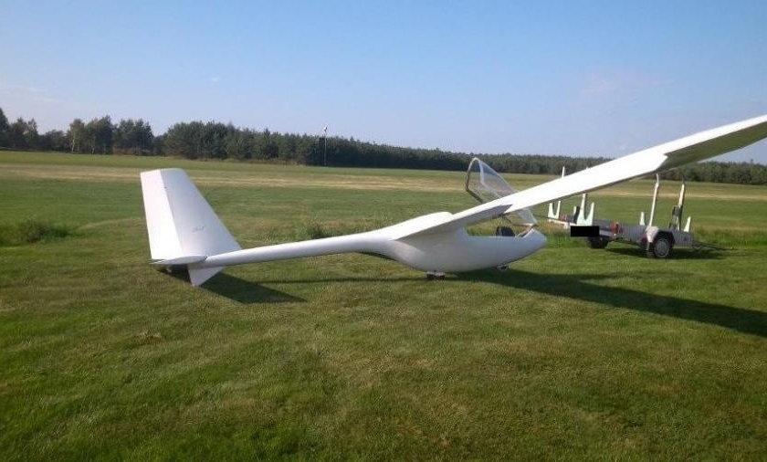 Motoszybowiec, którym latał 76-latek