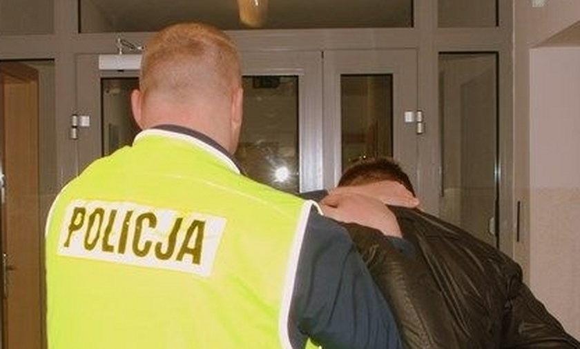 Włamywacz w sidłach policji
