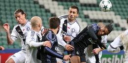 Tak walczyła Legia. Zdjęcia z meczu Legia- Real