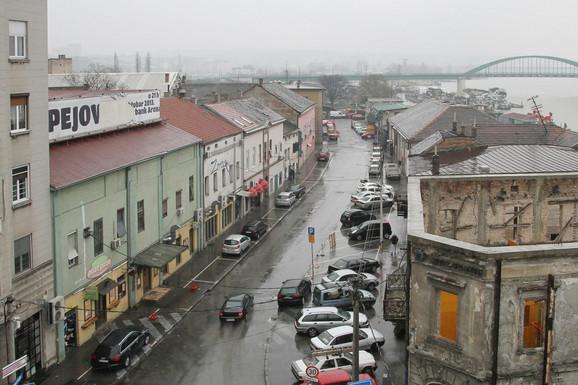Ulica Braće Krsmanović sad