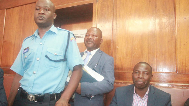 Nandi Governor Stephen Sang during his court appearance on June 11, 2019. He has vowed to erect a cattle dip in Kibwari Tea Estate in one month