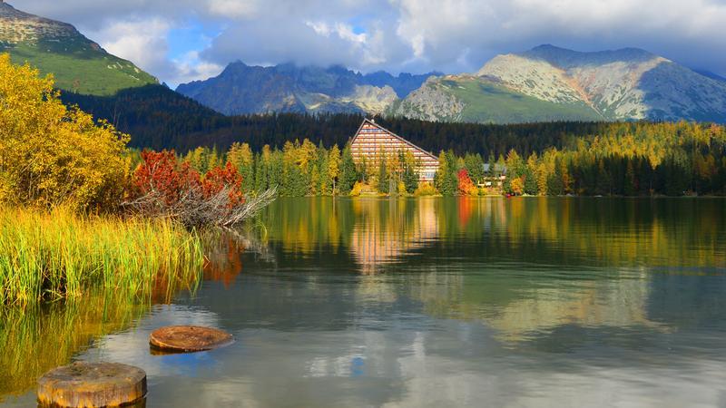 Szczyrbskie Jezioro (Szczyrbskie Pleso)