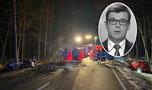 Śmierć znanego dziennikarza TVP, chwilę wcześniej prowadził Panoramę. Wstrząsające zdjęcia z wypadku, z aut została miazga