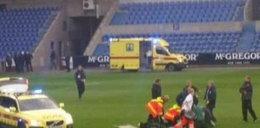 Piłkarz zasłabł na boisku! Jego stan jest krytyczny!