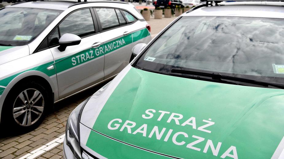 Straż Graniczna zatrzymała nielegalnych imigrantów w okolicach Arłamowa