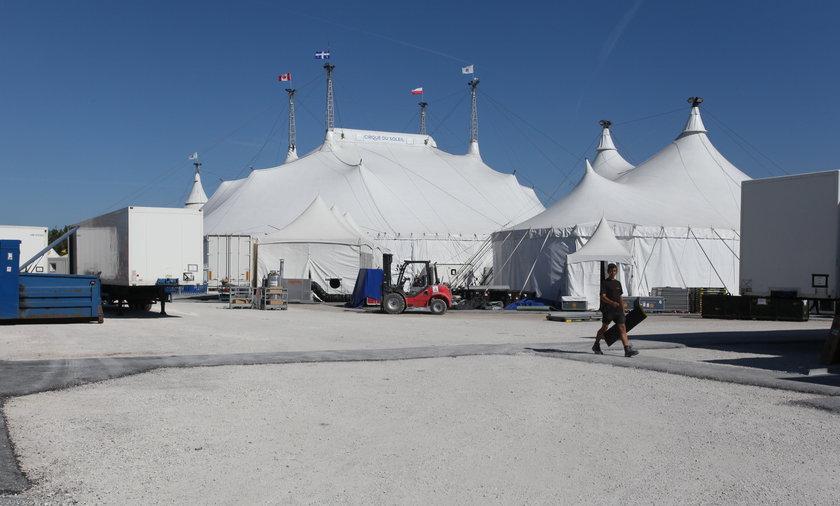 Tak wygląda cyrk od środka