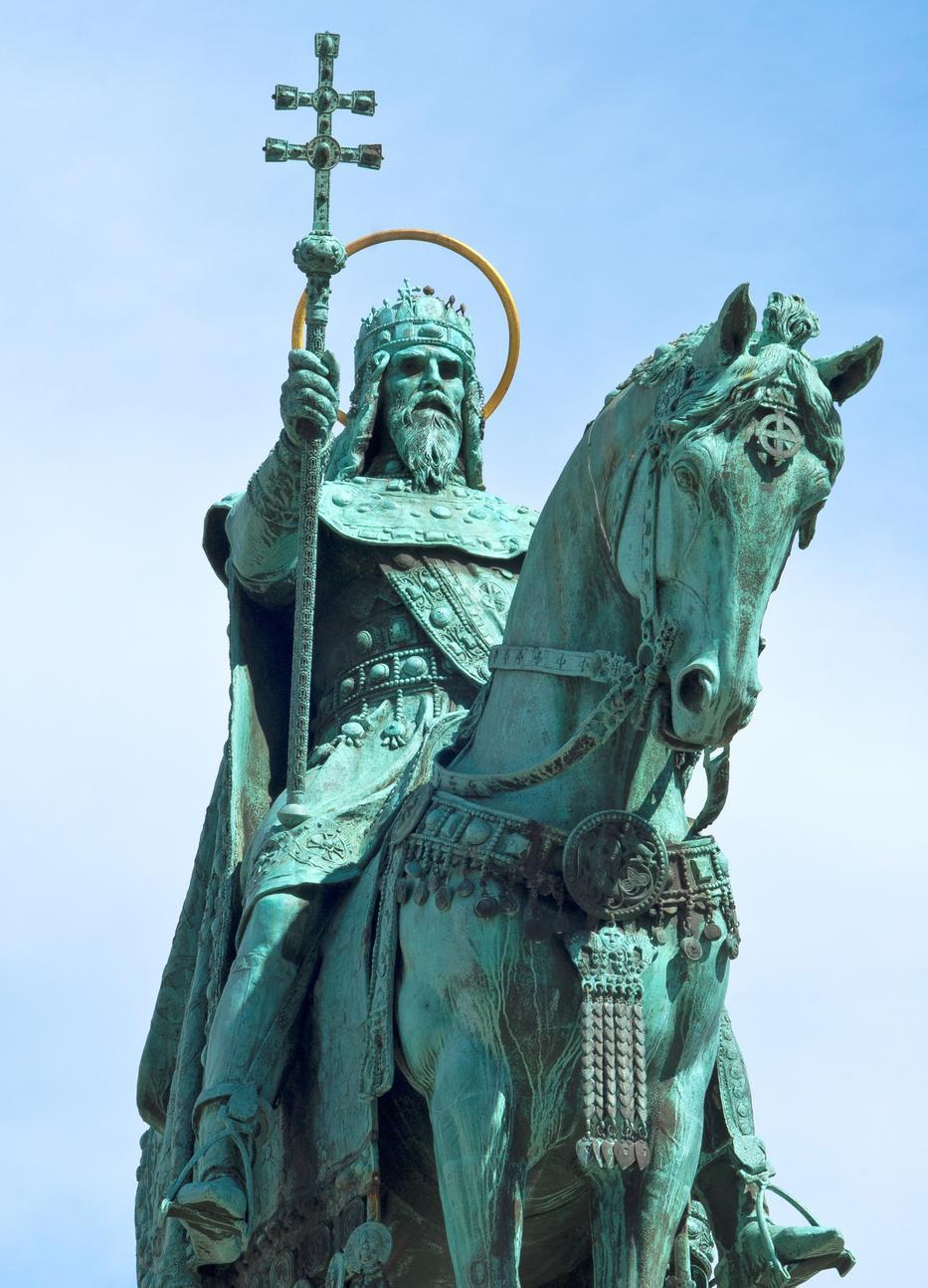 Szent István király 997 és 1038 között élt, az ő korában bocsátották ki a dénárt / Fotó: Getty Images
