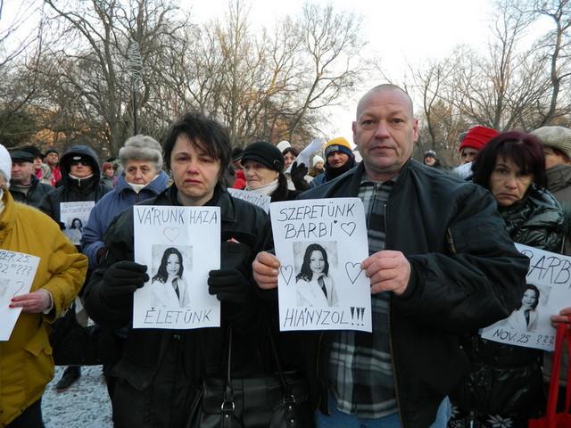 Melinda i Endre Vitez roditelji nestale Barbare