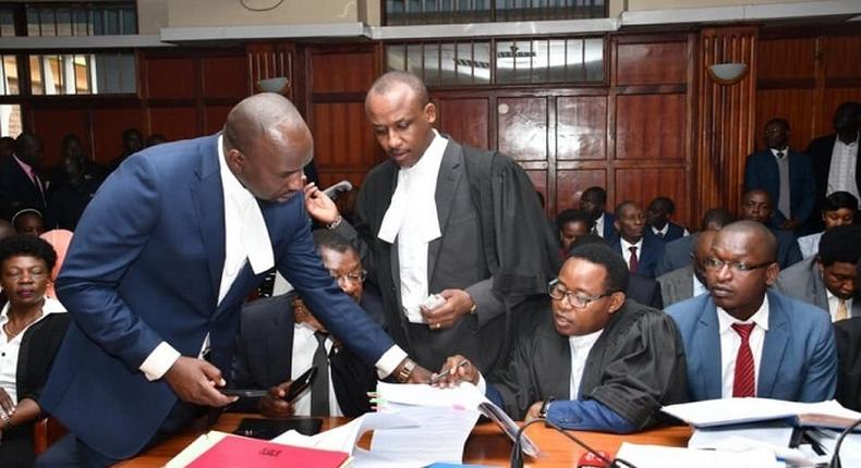 Elgeyo Marakwet Senator Kipchumba Murkomen files petition against President Uhuru Kenyatta over Kimwarer dam