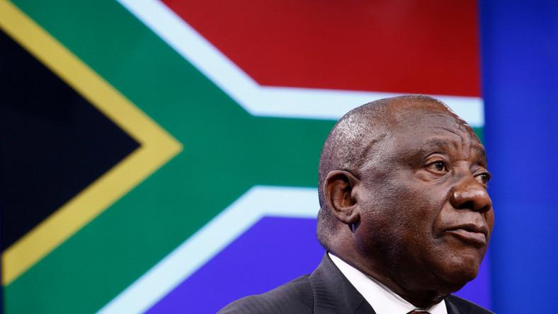 Prezydent RPA Cyril Ramaphosa