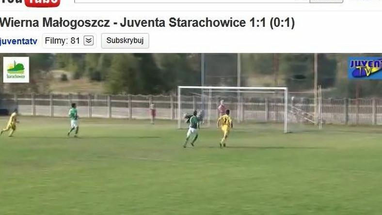 Mirosła Kalista strzelił pięknego gola