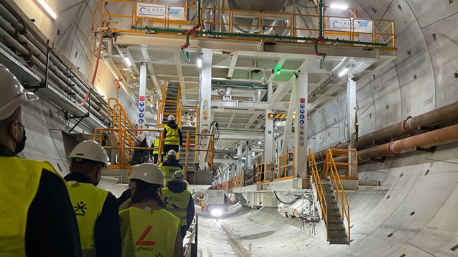 Jest już 419 m tunelu w Świnoujściu. Jak wygląda wewnątrz?