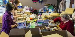 Góra darów trafi do potrzebujących