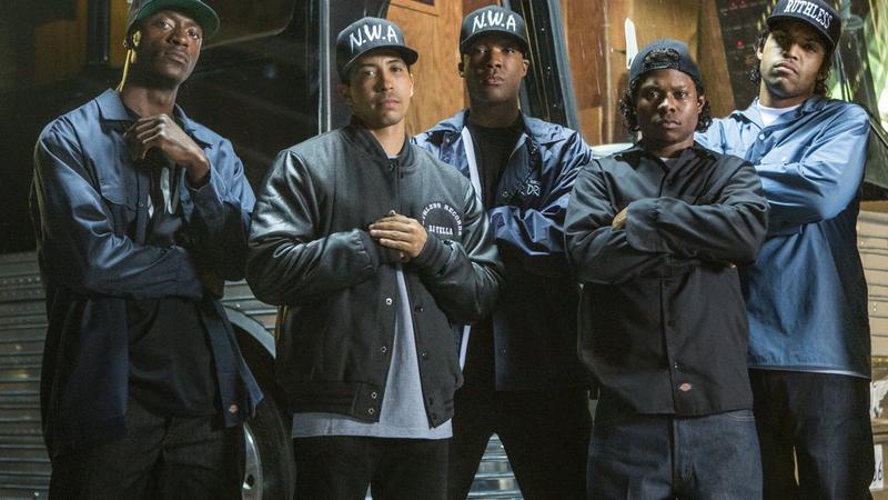 """""""Straight Outta Compton"""" - kadr z filmu"""