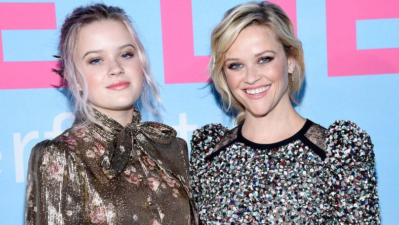 Reese Witherspoon and Ava Philippe