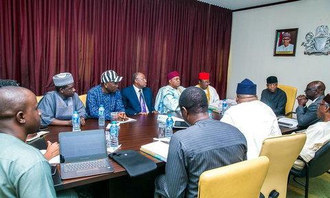 NEC meeting chaired by VP Yemi Osinbajo (Presidency)
