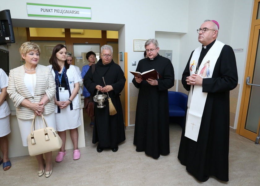 Nowy oddział w szpitalu na Inflanckiej