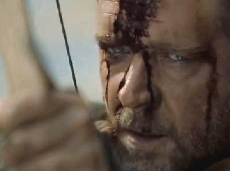 Russell Crowe jako Robin Hood u Ridleya Scotta
