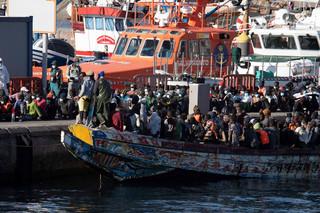 Od soboty ponad 1600 imigrantów dotarło na Wyspy Kanaryjskie