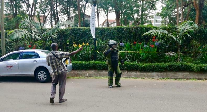 State House warning to Kenyans during Dusit Hotel attacked