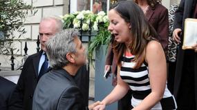 George Clooney na randce z dziewczyną w Edynburgu
