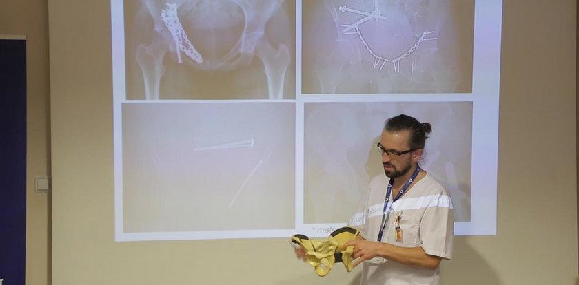 Ten implant ułatwia przeprowadzenie operacji miednicy