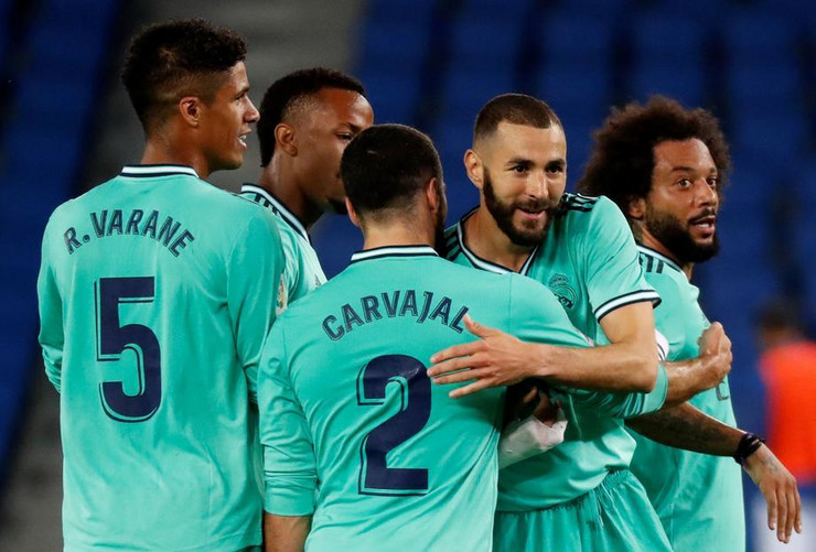 Karim Benzema proslava gola