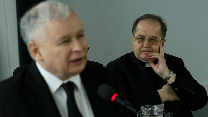 Jarosław Kaczyński i Tadeusz Rydzyk