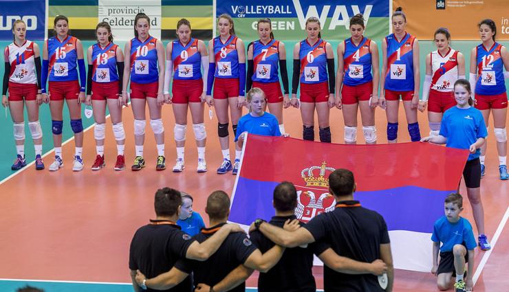 Kadetska ženska odbojkaška reprezentacija Srbije