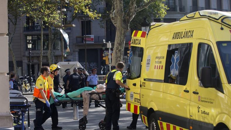 Atak terrorystyczny w Barcelonie