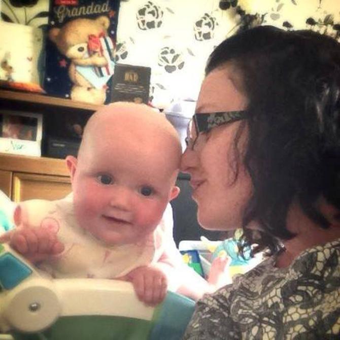 Postporođajna depresija u potpunosti muti razum: Suzi sada uživa sa ćerkicom
